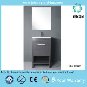 Floor-Mounted MDF Bathroom Cabinet, Bathroom Furniture, Bathroom Vanity (BLS-EU069) pictures & photos