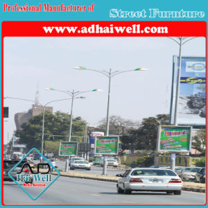 Street Pole with Ad Light Box pictures & photos