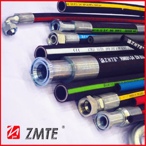 Compact Hydraulic Hose with Good Bend Radius Ability- R17 pictures & photos