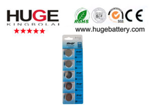 CR2025 Lithium Button Cell Battery /Coin Cell with Tabs for PCB Soldering pictures & photos