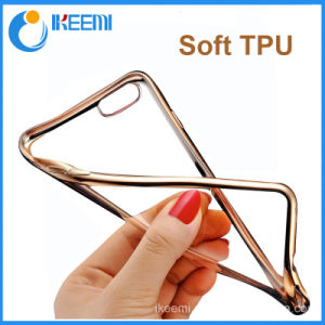Electroplate TPU Back Case for Huawei Mate 8, New Chrome Plated Soft TPU Full Cover Case pictures & photos