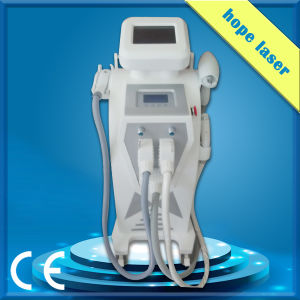 Medical Ce Approved Salon Clinic Home Use Porable Opt Shr / Fast Hair Removal Machine ND YAG Laser pictures & photos