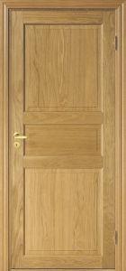 Wholesale Interior Oak Veneered Door, MDF Wood Door with Hinges and Lockset pictures & photos