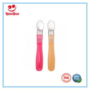 Best Baby Spoon Cutlery in Soft Silicone pictures & photos