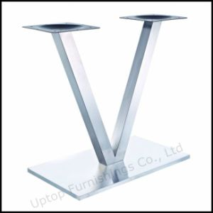 Modern Rectangle Brush Stainless Steel Base (SP-STL260) pictures & photos