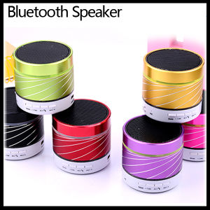 LED Light Mini Small Wireless Bluetooth Metal Handsfree Speaker pictures & photos