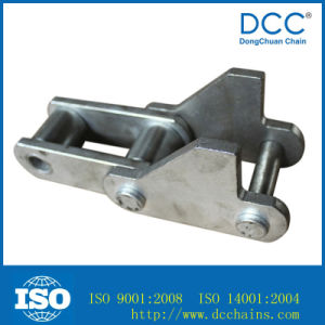 Galvanised Cast Iron Roller Drag Chain for Sugar Industry pictures & photos