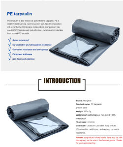 150GSM Eco Friendly Polyster PE Laminated Truck Cover Tarpaulin pictures & photos