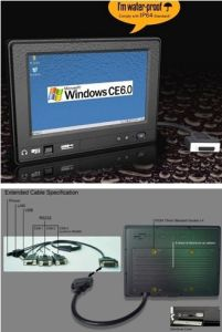 """Laptop Computer with 7"""" Touch Panel for POS/Mobile Data Terminal pictures & photos"""