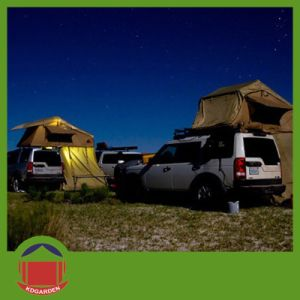 Desert Color Car Shelf Tent with LED Light pictures & photos