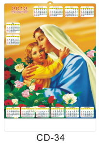 3D Calendar 034