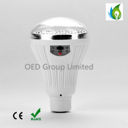 Solar Rechargeable Outdoor Light Garden Bulbs with Remote Control pictures & photos