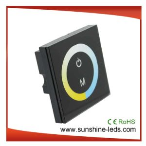 4A Touch Panel Color Temperature Lighting LED Controller, Dimmer pictures & photos