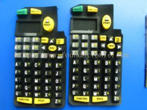 Corrosion Resistance Products Rubber Keyboard Membrane Switch Silicone Keypad pictures & photos