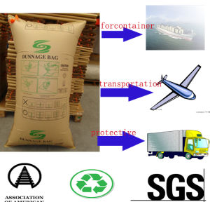 Kraft Paper Dunnage Air Bag for Container (manufacturer) pictures & photos