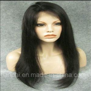 Black Straight Virgin Raw Brazilian Human Hair Full Lace Wig