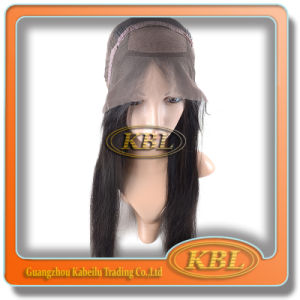 Silk Front Lace Wig in Brazilian Virgin Hair pictures & photos