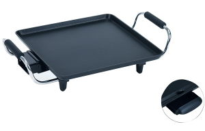 28*28cm Electric Griddle with Non Stick Coating