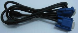 VGA Cable 15pin Male/Male pictures & photos