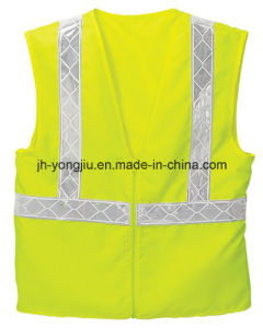 High Visibility Reflective Security/Safety Vest for Working (yj-1029011)