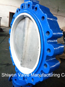 Lug Type API 150lb PTFE Seat Butterfly Valve with Gear pictures & photos