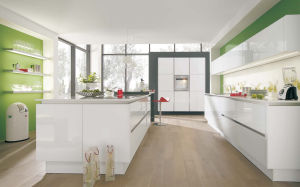 Best Quality Innovative Acrylic Kitchen Cabinet Design (zv-001) pictures & photos