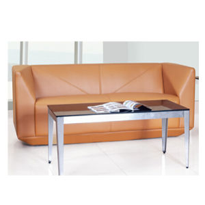 Elegant Office or Lobby or Lounge Area Leather Sofa (SF-1059-2) pictures & photos
