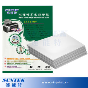 A4 Inkjet Transparent Water Decal Transfer Paper pictures & photos