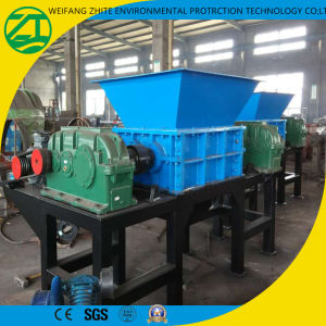 Double/Single Shaft Shredder for Plastics/Tires/Foam/Kitchen Waste/Municipal Solid Waste/Medical Waste/Wood pictures & photos