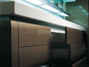 2017 New Style Modern High Gloss Lacquer Kitchen Cabinets (zz-066) pictures & photos