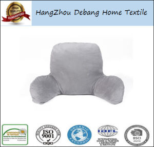 Ultra Plush Brushed Microfiber Bed Rest Reading Pillow Lounger pictures & photos
