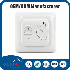External Temperature Sensor Non-Programmable 230V AC Thermostat Controller (OCTK719E) pictures & photos