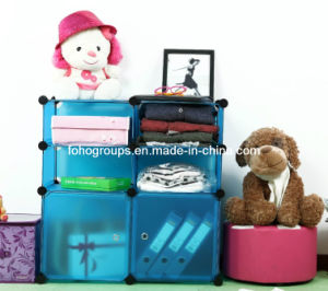 Plastic DIY Wardrobe with Many Colors Available (FH-AL01013-2) pictures & photos
