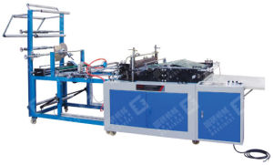 Servo Motor Driven Side Sealing Plastic Bag Making Machine pictures & photos