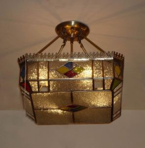 Copper Ceiling Lamp with Glass Decorative 19335 Ceiling Lighting pictures & photos