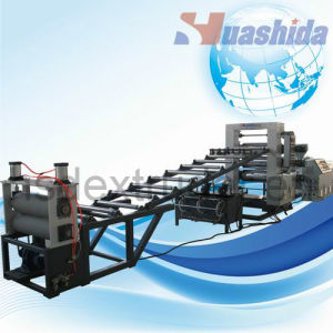 PE/PP/PS/HIPS/ABS/PVC Sheet Extrusion Line pictures & photos