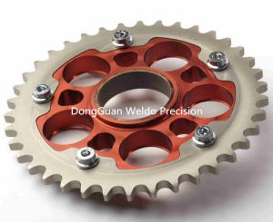 Chain Sprocket Wheel and Chain and Motorcycle Sprocket Transmission Part pictures & photos