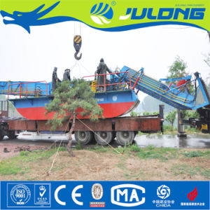 Julong Aquatic Weed Cutting Machine for Water Treatment pictures & photos