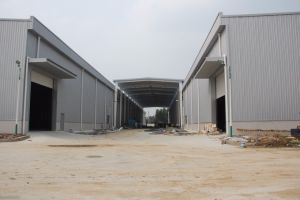 Galvanized Painted Steel Frame for Warehouse and Workshop (zh-3) pictures & photos