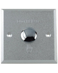 Door Release Button with Double Feature No/Nc (Aluminium) (EC-86)