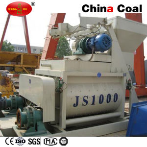 Js1000 Twin Shaft Cement Batch Mixer Mixing Machine pictures & photos
