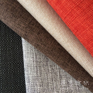 Polyester Fabric Polyester Linen Fabric for Home Textile pictures & photos