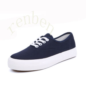 New Design Women′s Casual Canvas Shoes pictures & photos