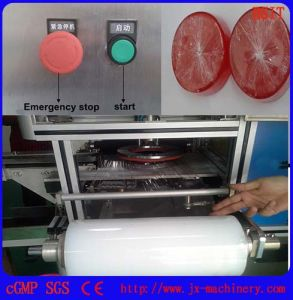 Ht-980A Film Wrapper Packing Machine for Round Hotel Soap Bar pictures & photos