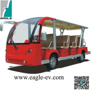 Electric Fourteen Seats Passenger Carrier, 14 Seats People Mover pictures & photos