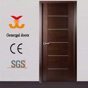 Veneer Laminated Plain Wooden Door pictures & photos