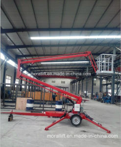 Crank Arm Trailer Mounted Boom Lift pictures & photos