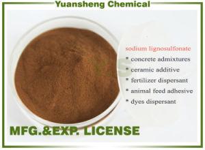 Mn-2 Sodium Lignosulfonate Concrete Additive/Leather Tanning Chemicals /Building Material/Water Reducer pictures & photos