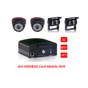 3G/GPS/WiFi Mobile Car DVR 360 Degree Monitoring You Car/Truck/Bus pictures & photos