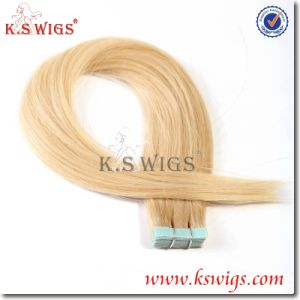 Double Tape Hair Extension Brazilian Remy Hair pictures & photos